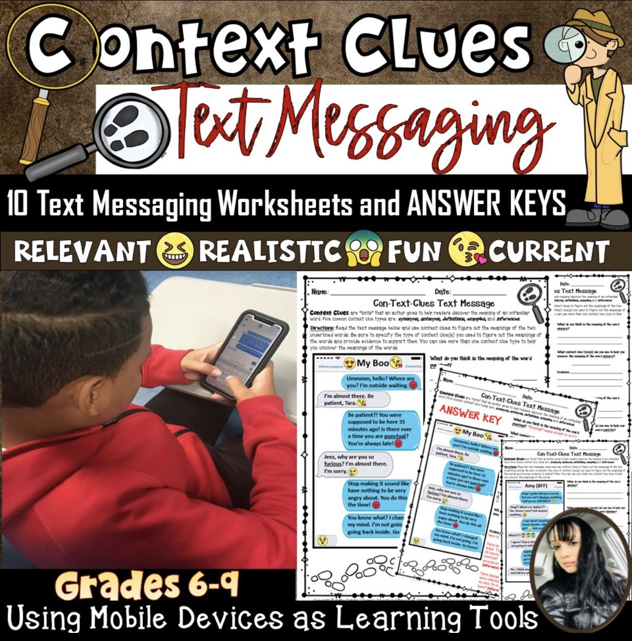Context Clues Text Messaging Context Clues Context Clues Lesson Text Messages [ 1259 x 1242 Pixel ]