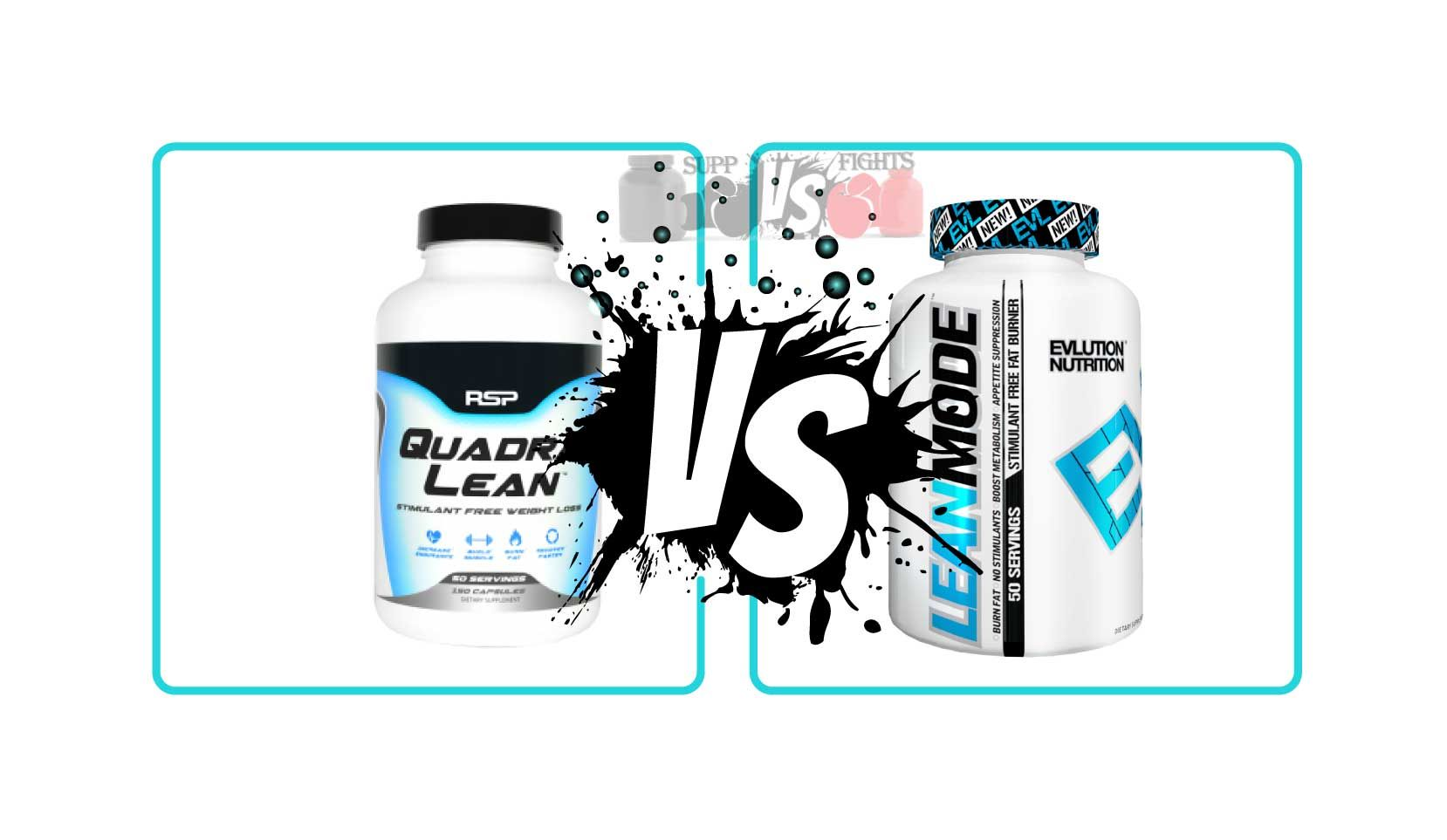 QuadraLean vs  LeanMode | suppfights | Weight loss, Monopoly