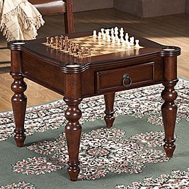 Genial Chess Board End Table! Chess Table, Game Room Furniture, Set Game, Living