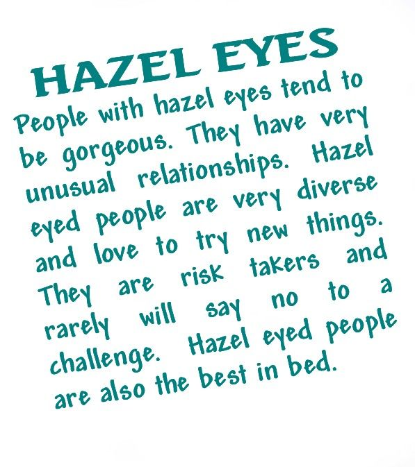 Sayings about hazel eyes