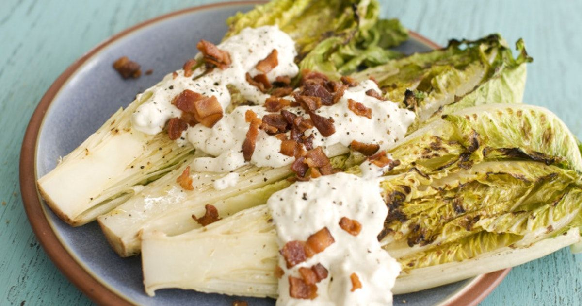 Yes you can grill your salad grilling blue cheese and lettuce yes you can grill your salad blue cheese dressingdressing reciperecipes forhealthy recipesfood forumfinder Gallery