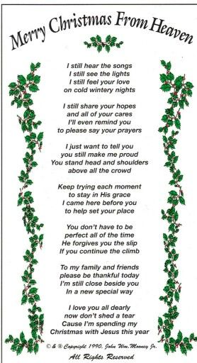 Christmas From Heaven.Merry Christmas From Heaven Facebook Posts Merry