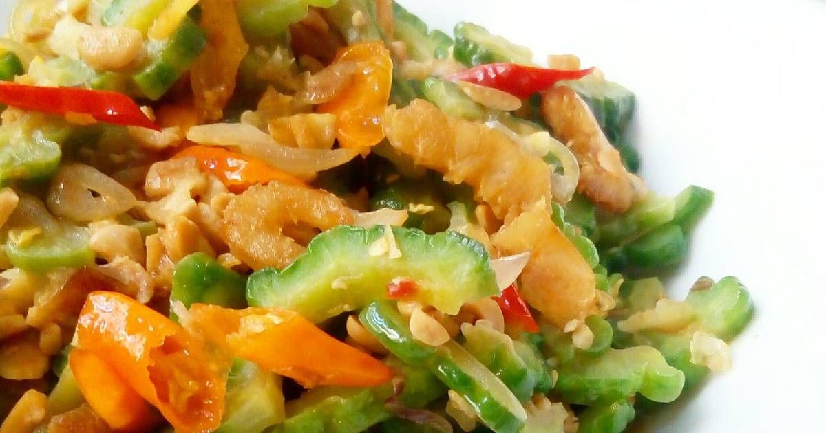 Resep Tumis Pare Dengan Ebi Oleh Igna Cooking Resep Tumis Resep Masakan Indonesia Resep Masakan