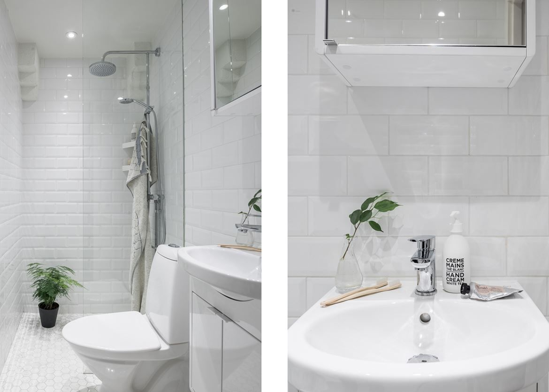 Nyrenoverat badrum med golvvärme.. Tavastgatan 48, 3 tr - Bjurfors ...