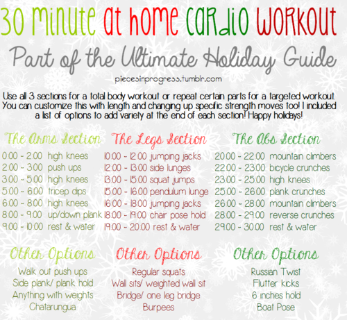 30 Minute Workout At Home 28 Images 10 Workouts To Do