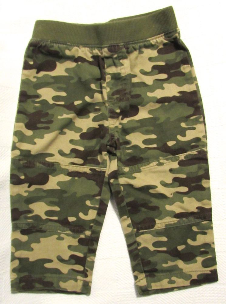 db2a207cd GARANIMALS Baby Boys Camouflage Multi-Color Pull On Pants Cotton Size:12  Month #Garanimals #Pants