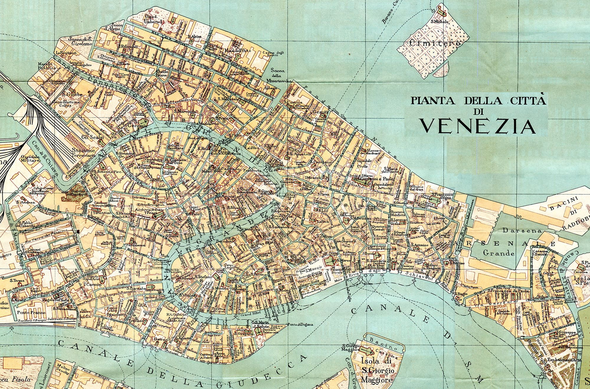 photograph regarding Printable Map of Venice called Pin by way of Sunrise Adams upon Maps Venice map, Venice italy map