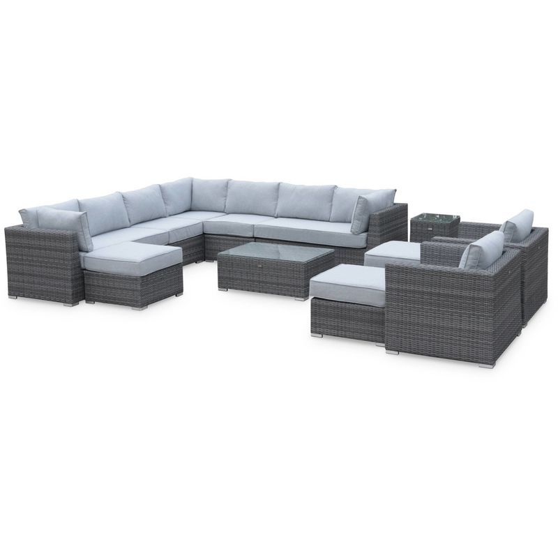 Salon De Jardin Outdoor Furniture Sets Outdoor Sectional