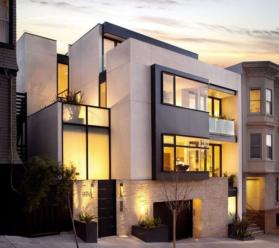 25 Modern Home Exteriors Design Ideas | Luxury Modern Homes