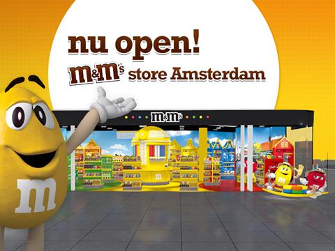m&m store nederland