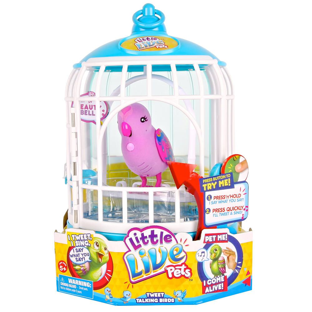 Little Live Pets Bird Cage Beauty Bella Moose Toys Toys R