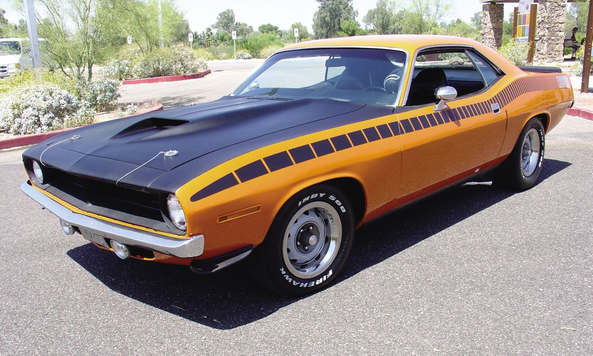 Today, the Barracuda one of the most sought after muscle cars ever ...