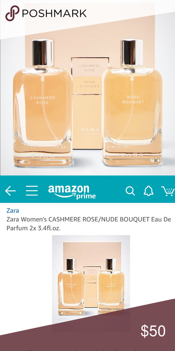 Womens Cashmere Rose Nude Bouquet X2 Edp Two 34 Oz Zara