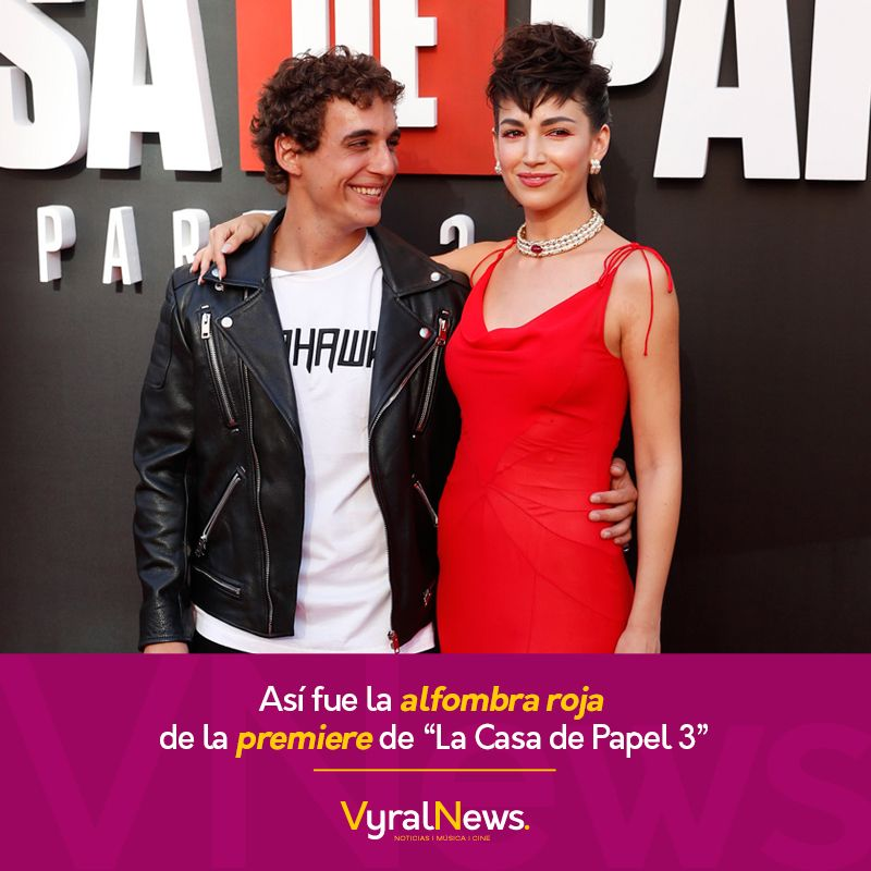 La Casa De Papel Llevó A Cabo En Madrid La Premiere De Su Tercera Temporada Dresses Slip Dress Fashion