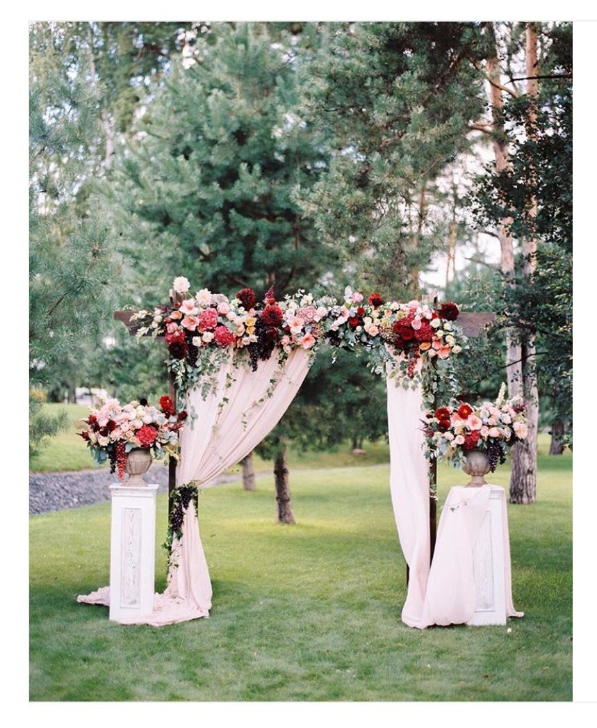 Outdoor Weddings Alternative Altars: Pin By Debbie Mccandless On Wedding In 2019