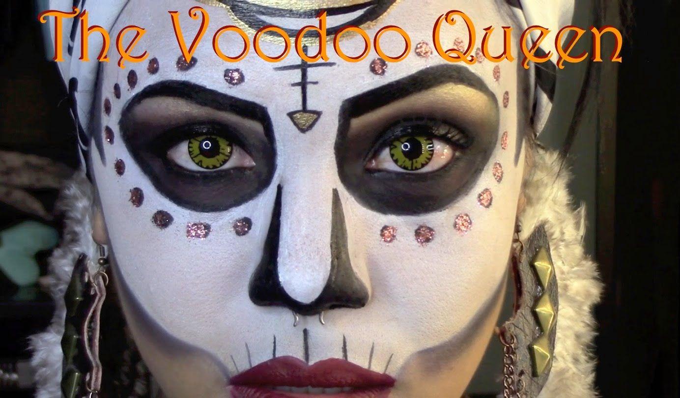 Halloween tutorial the voodoo queen official killjoyy halloween tutorial the voodoo queen official killjoyy more voodoo costumehalloween costume makeupwitch baditri Images