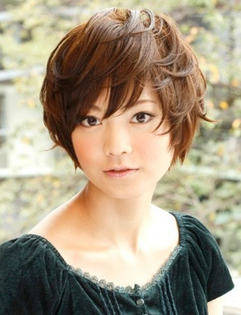 Short round bob. It\u0027s cute, but I don\u0027t think I\u0027d ever get a cut like it.