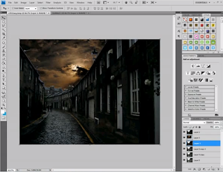 ว ธ แต งภาพตอนกลางว นให เป นกลางค นด วย Photoshop Drawing99 การถ ายภาพ