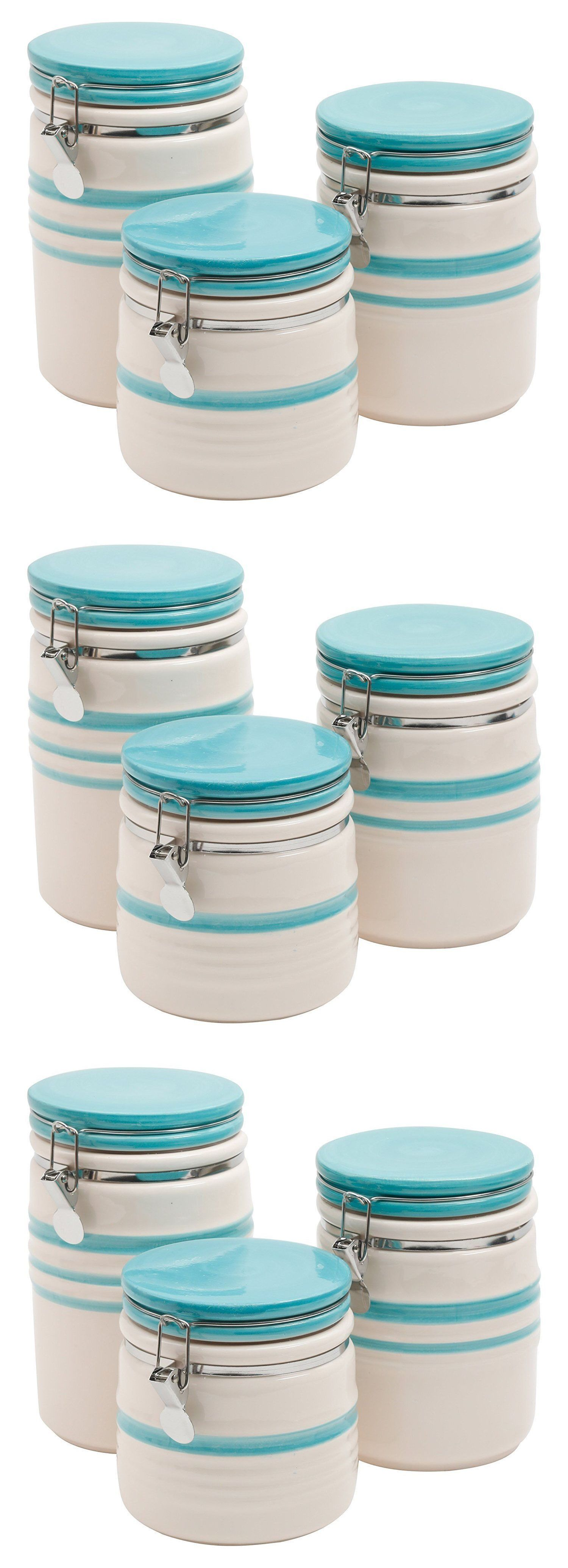 Canisters and Jars 20654: 3 Piece Canister Set Food Storage Kitchen ...