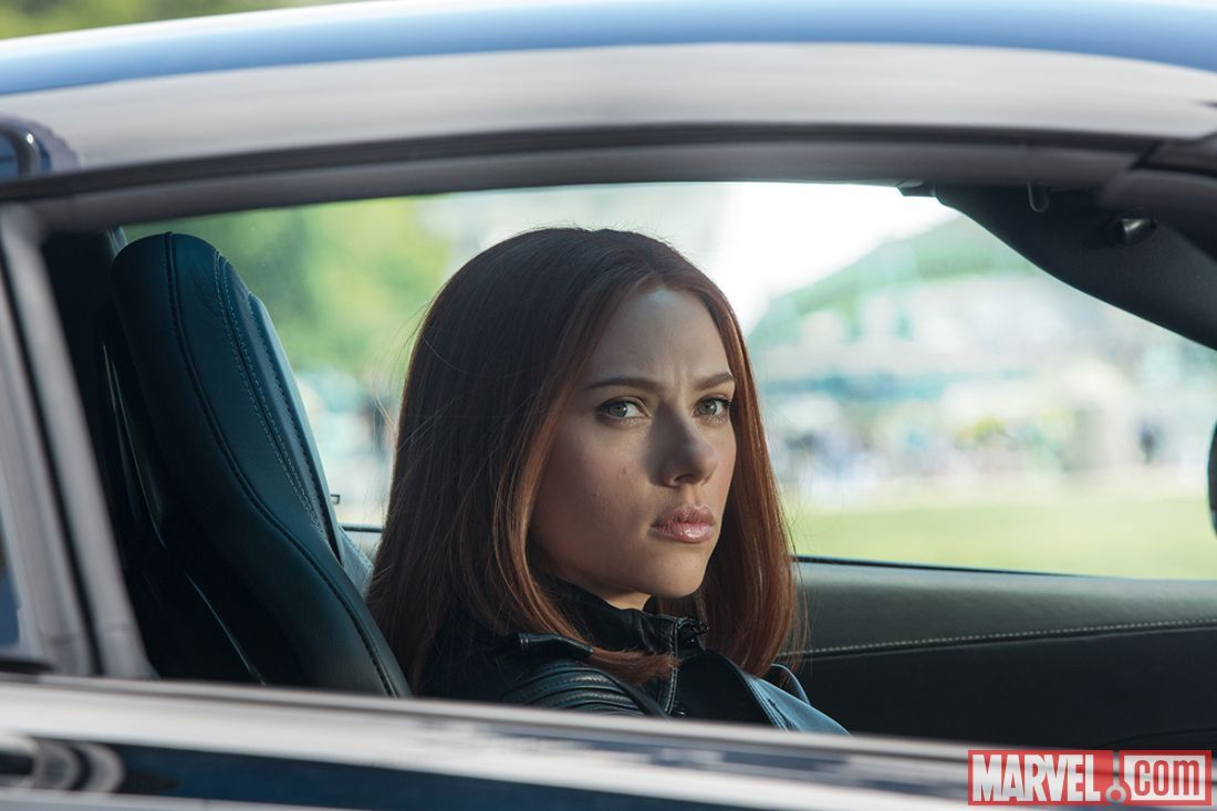 Scarlett Johansson stars as Black Widow in Marvel's Captain America: The Winter Soldier
