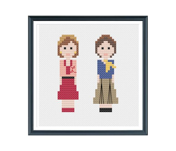 Hey, I found this really awesome Etsy listing at https://www.etsy.com/uk/listing/168102246/laverne-and-shirley-cross-stitch-pattern