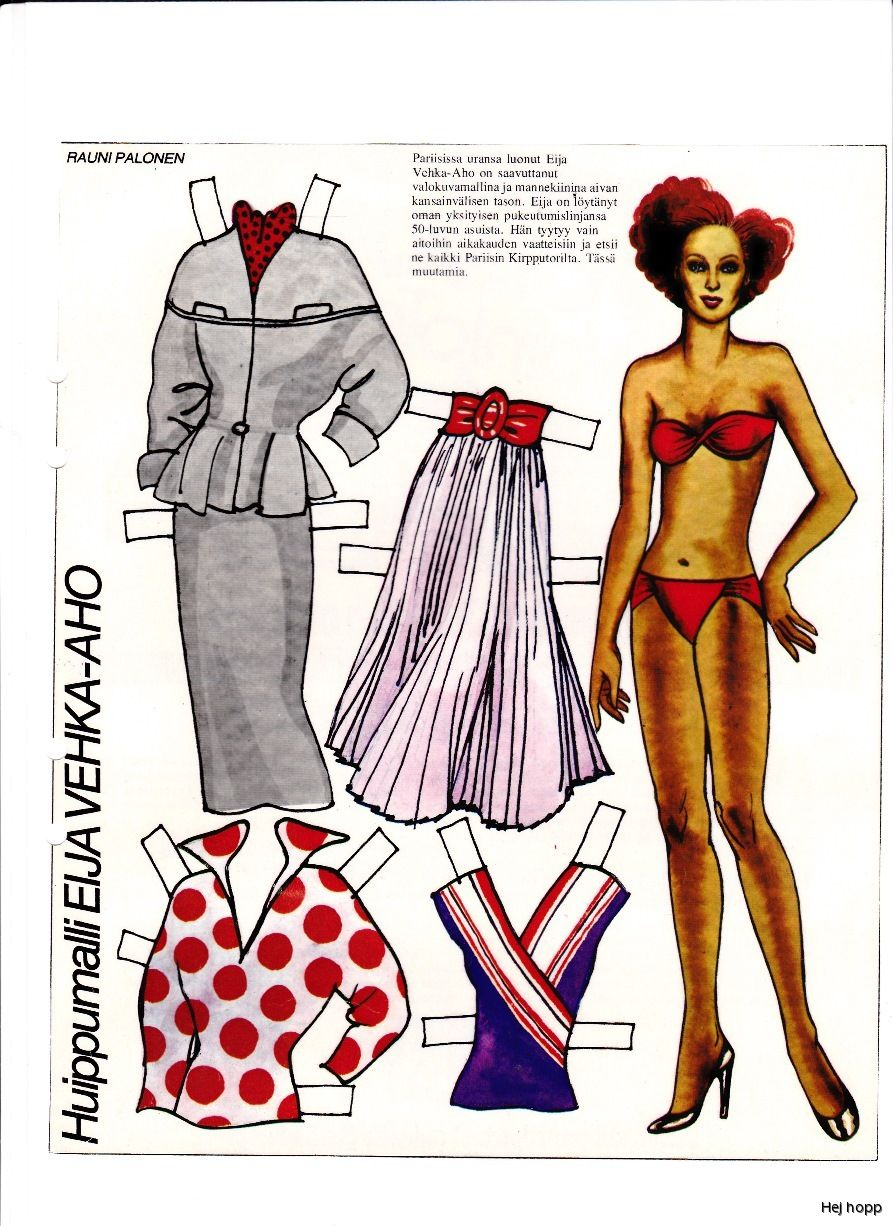 doll Adult paper