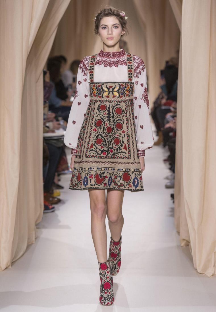 современная и модная этническая одежда с фото