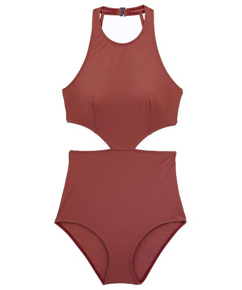 4a62efda71 7 swimsuits that will help you downplay your broad shoulders this summer.