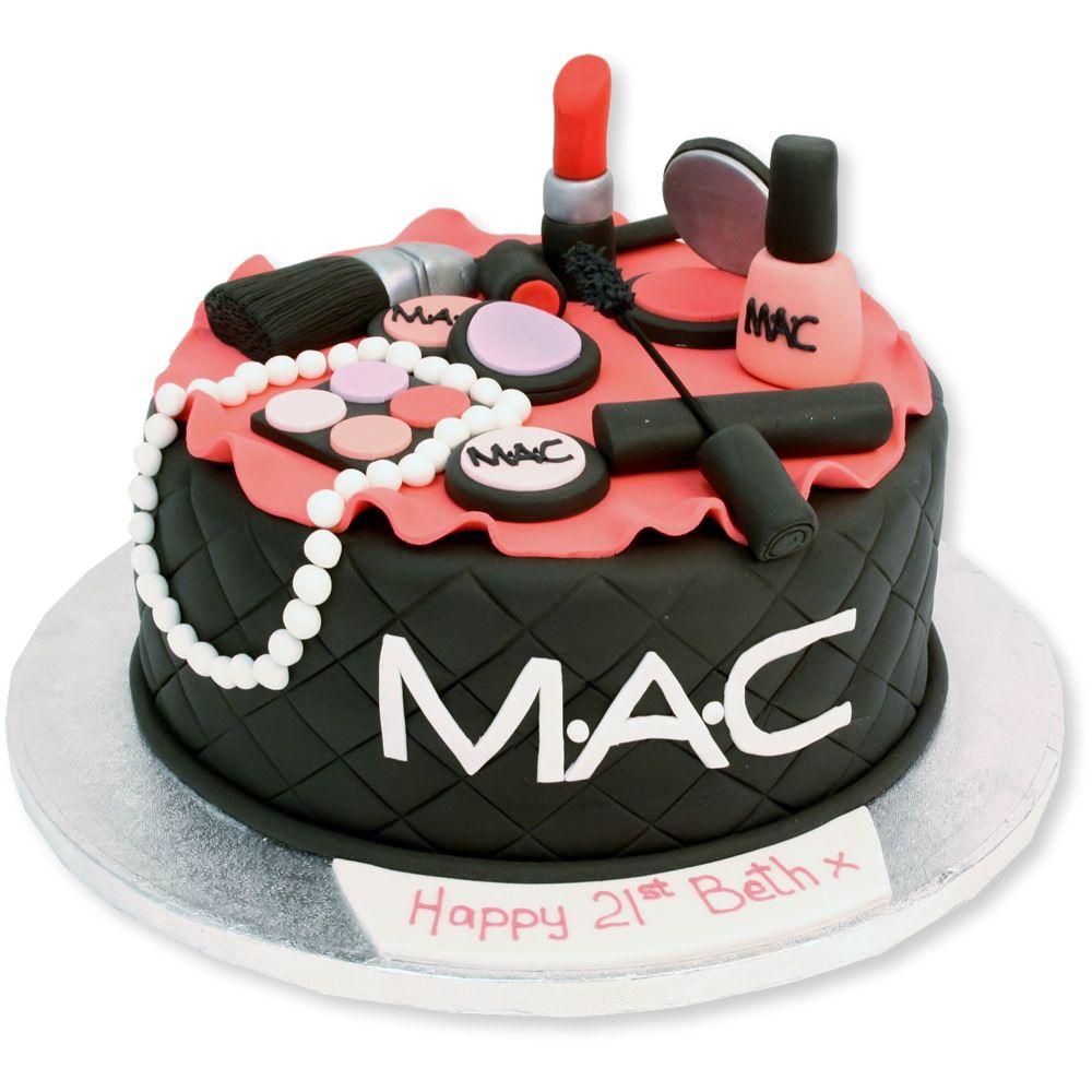 Make Up Cake in 2020 Make up cake, Birthday cakes for