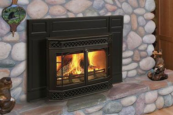 fireplace inserts wood burning with blower |  vermont_castings_wood_burning_fireplace_insert_merrimack - Fireplace Inserts Wood Burning With Blower