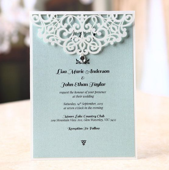 Igbo Traditional Wedding Invitation Cards: Bejeweled Wedding Invitation In 2019
