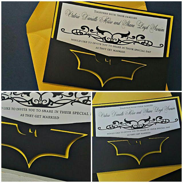 Batman Wedding Invitation My Wedding Guide Wedding Batman