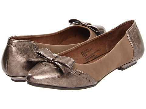 great for work! --> Rialto Pesaro Taupe Suede - 6pm.com