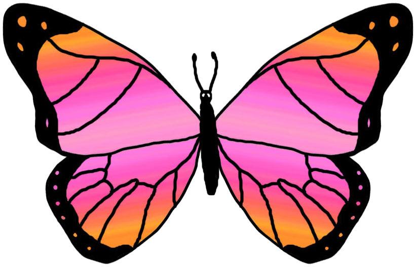 clipart butterfly clip art clip art free clip art borders image 7 rh pinterest co uk free clipart pictures of butterflies free clip art of butterflies and flowers