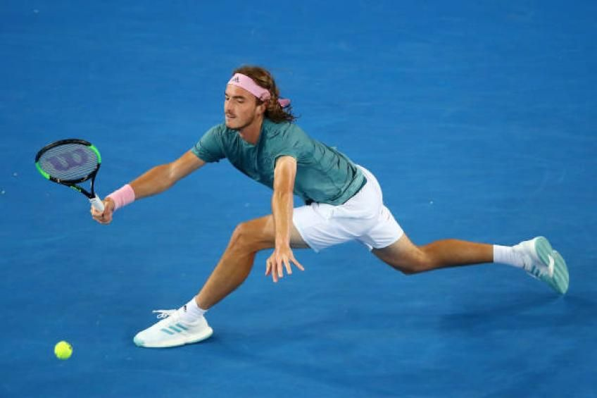 Stefanos Tsitsipas Tennis World Tennis Mens Fitness