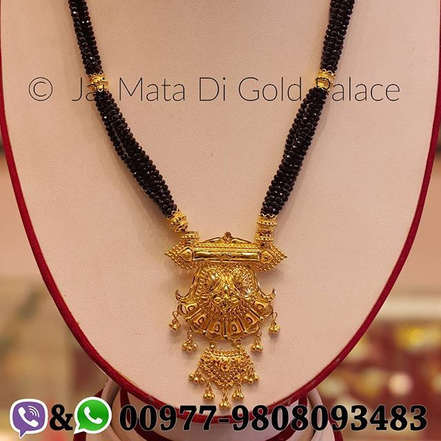 Name Mangalsutra Code 686 Weight Gram 22 26 Carat 24 Gold Jewelry Jaimatadigoldpalace Mangalsutra Nepal Nepali Happiness Jewelry Mangalsutra Gold