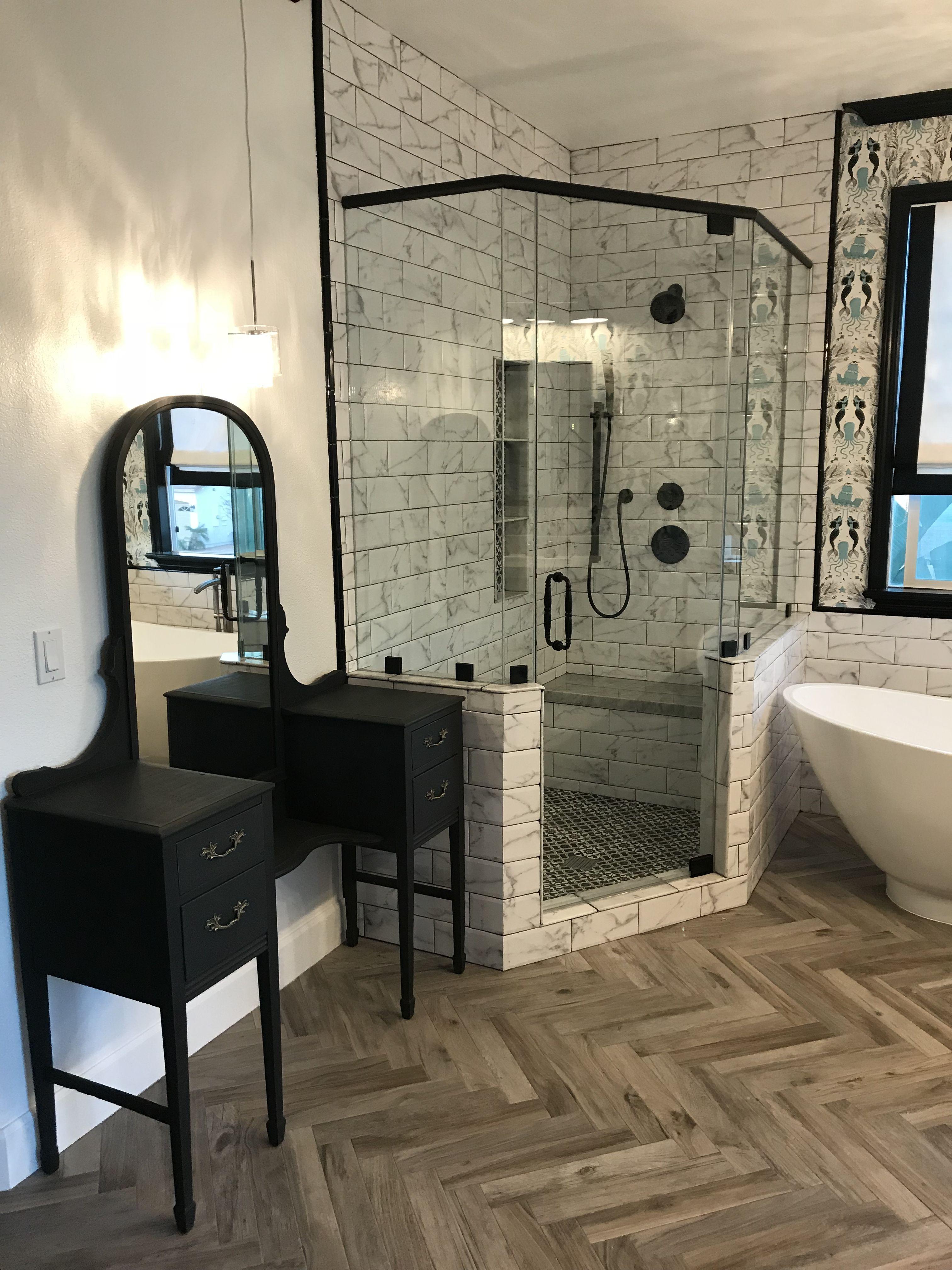 Modern Coastal farmhouse bathroom (With images) Bathroom
