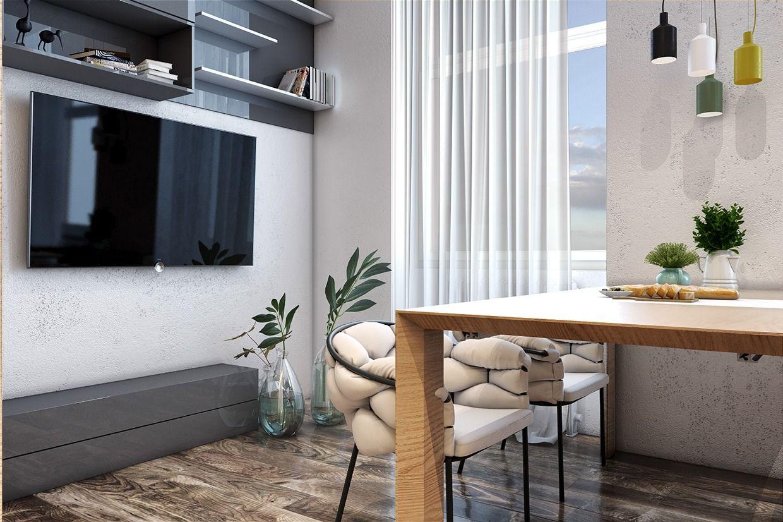 Minimalistische Wohnung Interior Design Style Für Kleinen Raum