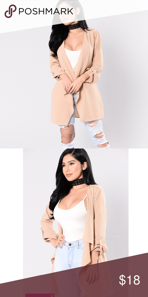 ca151460558 Fashion nova jacket  cover up New without tags Super cute Fashion Nova  Jackets   Coats