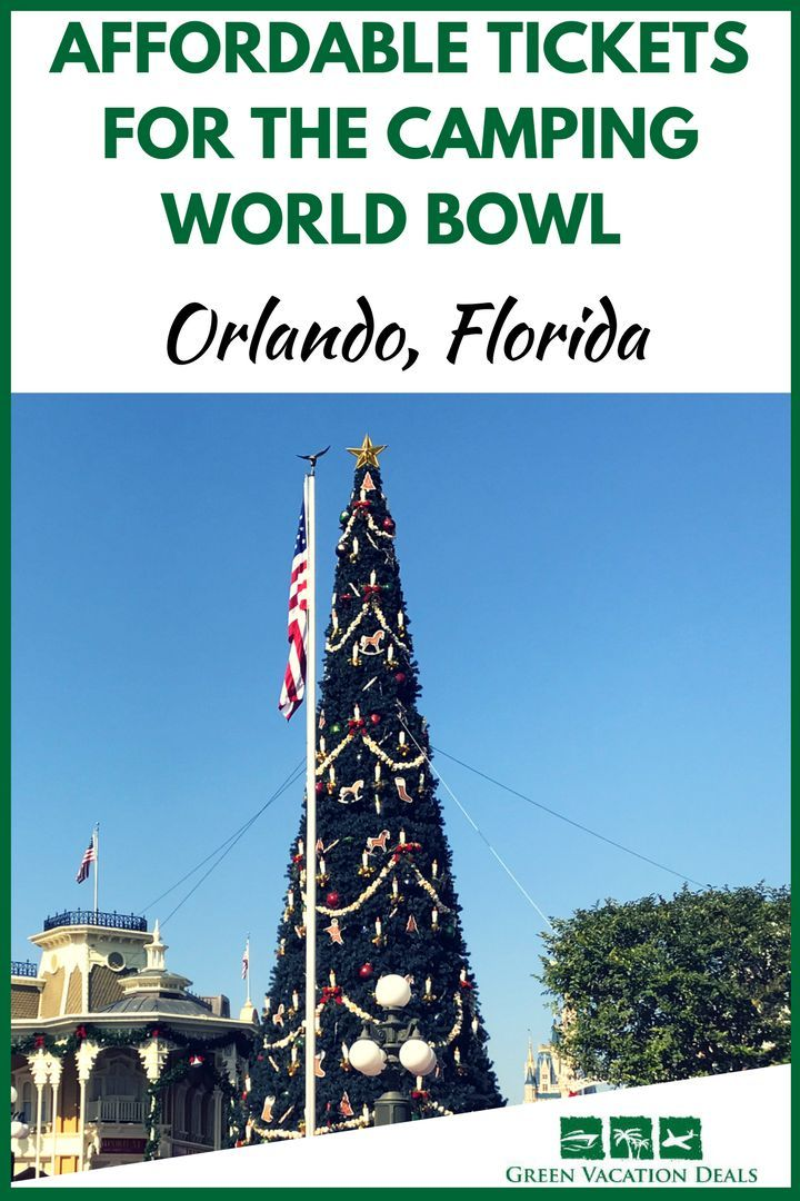 Affordable Tickets Camping World Bowl Orlando Florida