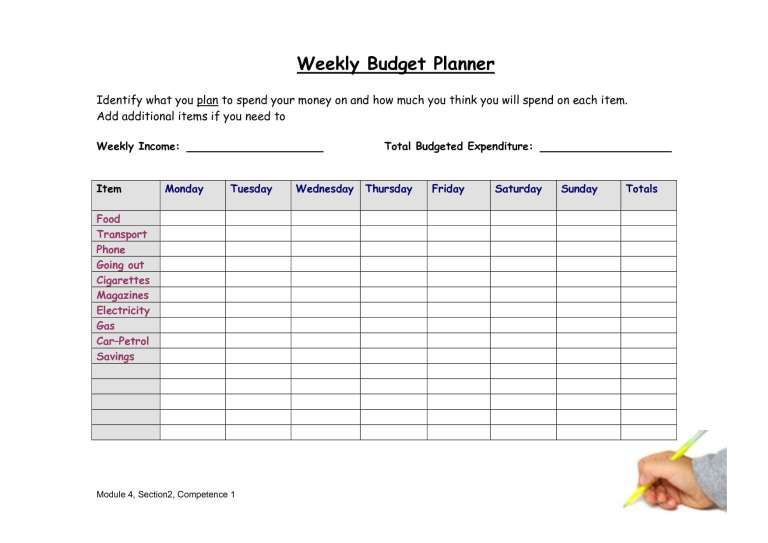 Definition 20 Best Photos Of Weekly Budget Sheet Weekly Budget Planner Wallstyles Weekly Budget Planner Budget Planner Template Budget Planner Free