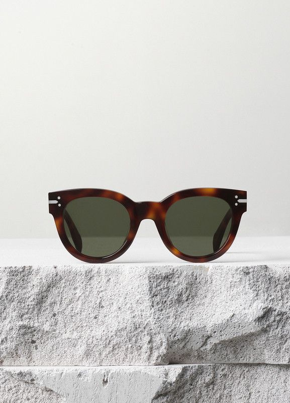 b326469c2ce5 New Butterfly Sunglasses in Acetate - Céline