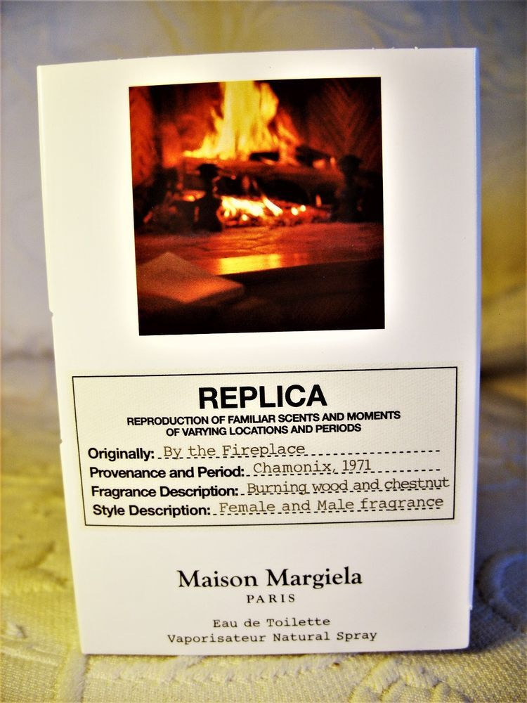 Maison Margiela Replica By The Fireplace Fragrance 0 04 Oz Deluxe