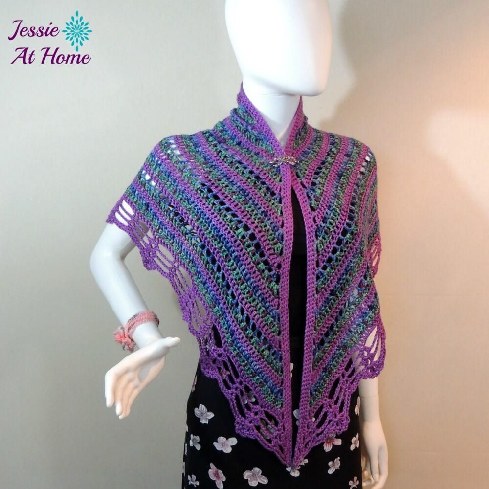 Silky panda crochet shawl crochet shawl shawl and panda silky panda crochet shawl bankloansurffo Choice Image