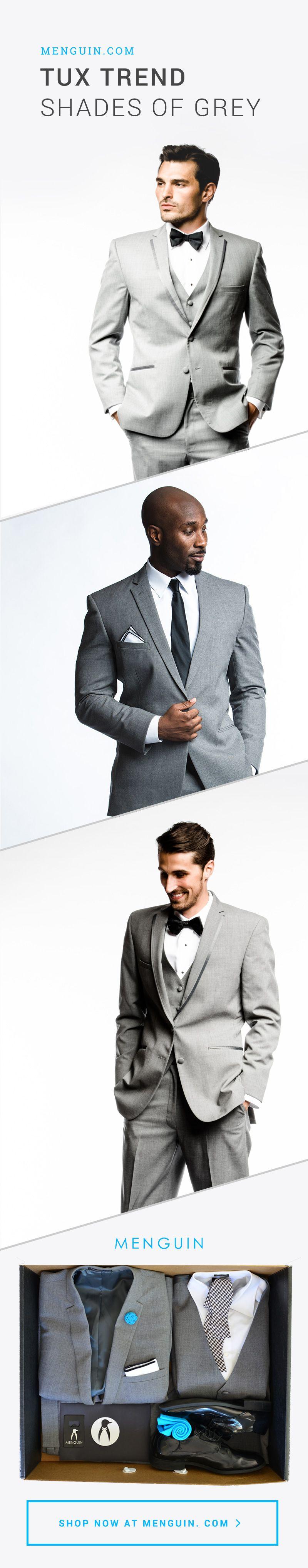 Tux Trend: Shades of Grey   Menguin.com