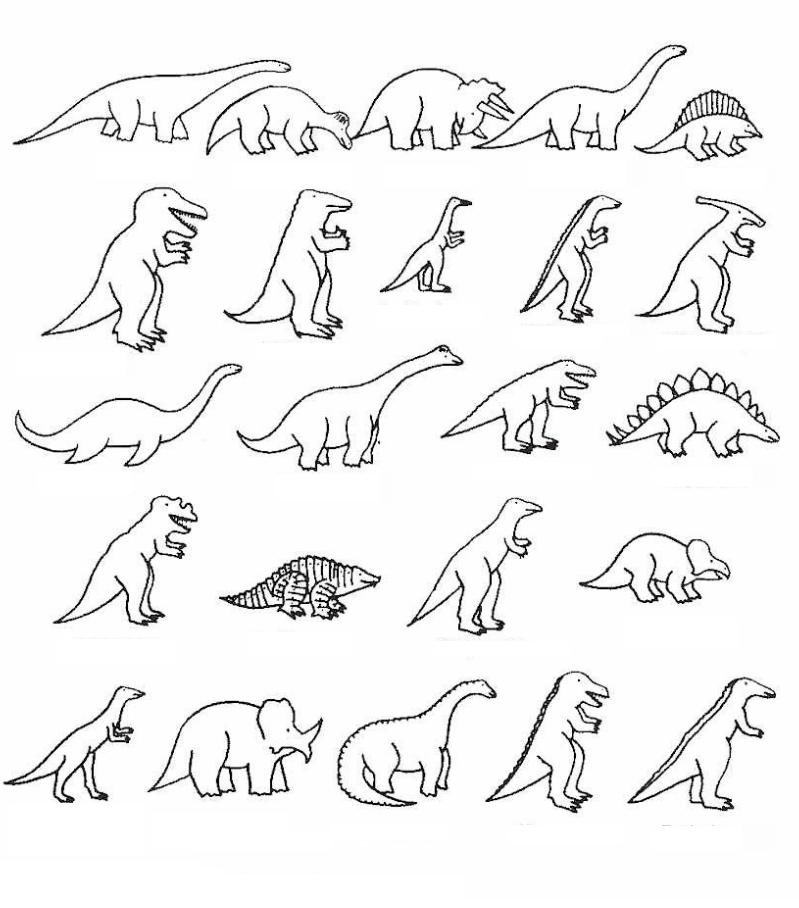 Dinosaurios para colorear  Kids  Pinterest  Colorear Comprar y