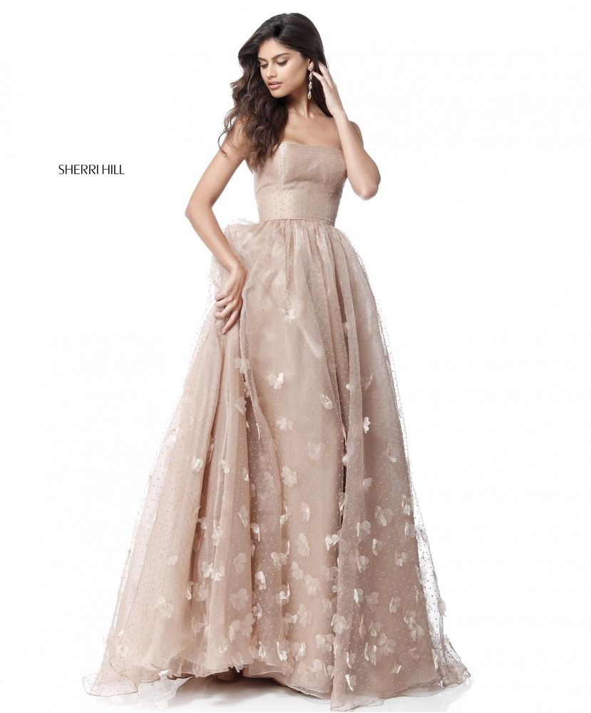 5846e7347614 Sherri Hill Style: 51625 Homecoming Dresses, Strapless Prom Dresses, Plus  Size Prom Dresses