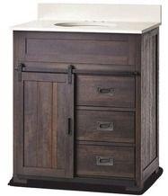 Home Decorators Collection 174 Bronwynne 30 Quot Barn Door Vanity