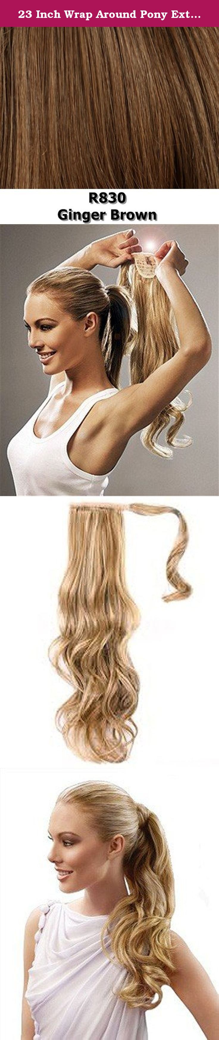 23 Inch Wrap Around Pony Extension By Jessica Simpson R830 Ging