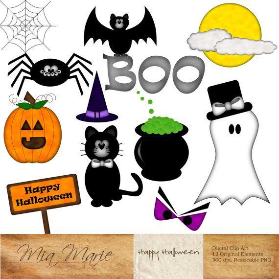 instant download digital clip art halloween clipart halloween rh pinterest co uk clip art halloween pumpkin clip art halloween pumpkin